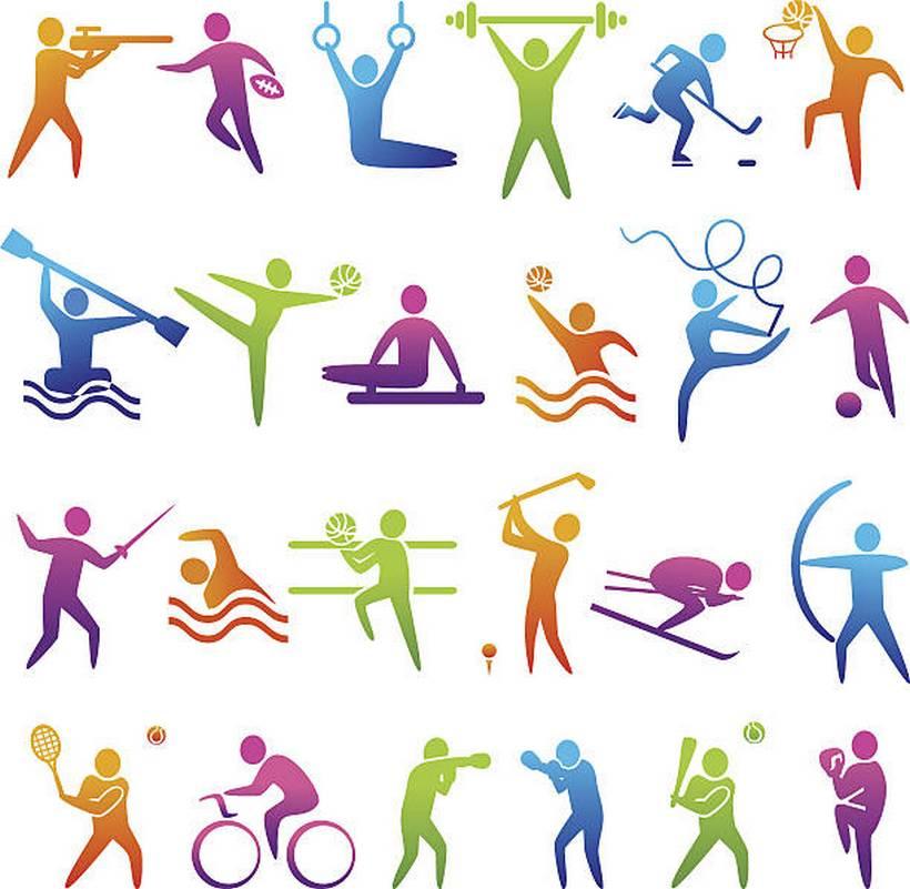Эмблема про спорт в картинках
