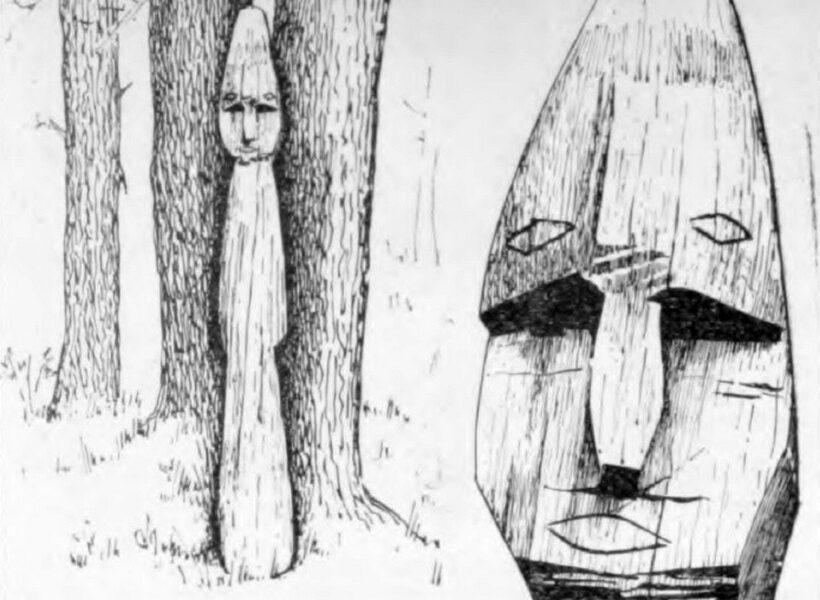 Рисунок из книги Гемуев И.Н., Сагалаев А.М. Религия народа манси. Культовые места (XIX - начало XX в.)
